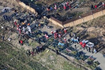 Echipele de salvare au gasita cutia neagra a avionului de pasageri ucrainean prabusit langa Teheran