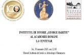 """Institutul de Istorie """"George Baritiu"""" al Academiei Romane la Centenar"""