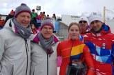 Georgeta Popescu, medaliata cu aur in proba de monobob, la Jocurile Olimpice de Tineret de la Lausanne