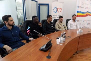 PLANURI MARI: Cristian Bud si Paul Batin, printre achizitiile celor de la echipa de fotbal Minaur. Se vrea promovarea in Liga I (FOTO)