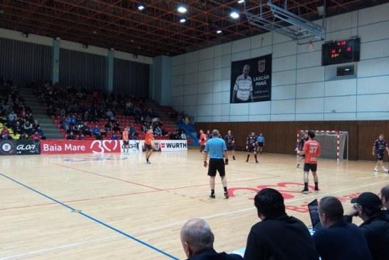 Handbal masculin: Minaur joaca la Fagaras pentru a-si pastra locul pe podium