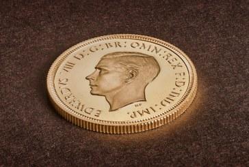 O moneda rara cu efigia regelui Edward al VIII-lea, cumparata pentru 1 milion de lire sterline