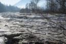 Exploatarea acumularii hidrotehnice Stramtori-Firiza se realizeaza in conditii de siguranta. Se mentine podul de gheata pe raul Iza