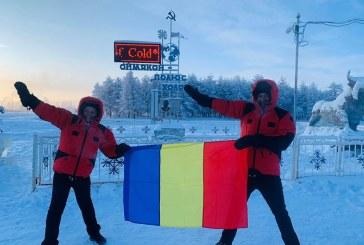Doi satmareni au reusit sa ajunga la Polul Frigului din Siberia cu Dacia Duster (FOTO)