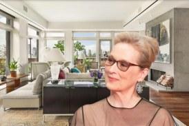 Meryl Streep a scos la vanzare apartamentul sau din cartierul newyorkez Tribeca, pentru suma de 15,8 milioane de dolari