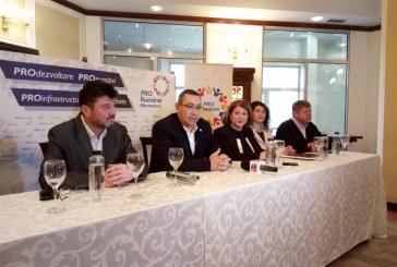 Victor Ponta anunta posibile aliante politice ale PRO Romania in Maramures si Baia Mare