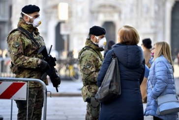 "Coronavirus: Armata italiana incepe sa supravegheze respectarea carantinei in ""zona rosie"""