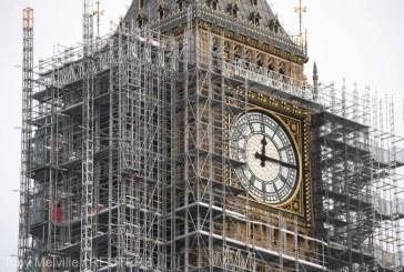 Factura pentru restaurarea celebrului Big Ben din Londra continua sa creasca