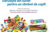 """Baimarenii pot dona carti si jucarii pentru copiii din Ponorata. Campania este organizata de Ambasada SUA in Romania si Biblioteca Judeteana """"Petre Dulfu"""""""