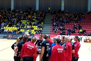 Handbal feminin: CS Minaur castiga clar in fata studentelor din Cluj