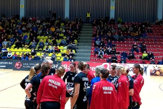 Handbal feminin – Liga Florilor: Un egal mare cat o victorie, CSM Bucuresti – CS Minaur: 24-24