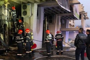 ACTUALIZARE: Incendiu la Casa de Cultura din Baia Mare. 34 de copii si 6 adulti s-au autoevacuat
