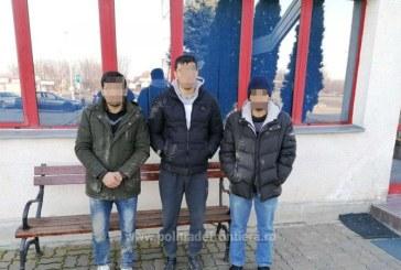 Trei afgani si un pakistanez opriti din drumul ilegal spre vestul Europei