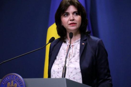 VIDEO – Monica Anisie: Materia neparcursă, recuperată anul viitor; nu se vor susţine teze
