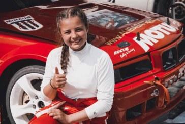 Automobilism: Natalia Iocsak (Minaur) lupta in prima etapa a concursului Drift Kings European Series, Bratislava