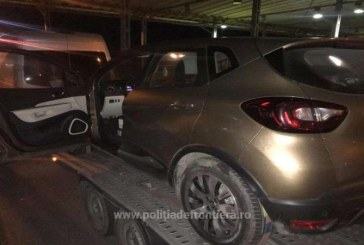 Renault furat din Belgia, descoperit de politistii de frontiera