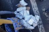 Un maramuresean a ramas fara 20 kg de tutun. Marfa a fost confiscata de politistii de frontiera