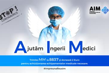 """Campanie AIM: """"Ajutăm Îngerii Medici"""": Donează 2 euro pentru medicii din Maramureș"""