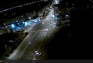 Imaginea zilei: Nimeni pe strada in Baia Mare, dupa ora 22:00