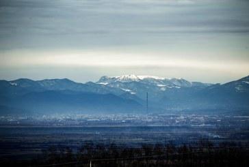 Imaginea zilei: Baia Mare la orizont