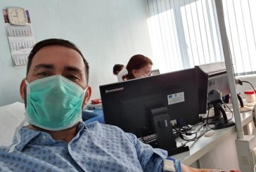 """Consilierul local Cristian Niculescu Țâgârlaș a donat sânge: """"Sunt bolnavi internați care au nevoie de sânge în fiecare zi!"""""""