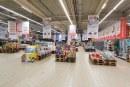 Baia Mare: Până și supermarketurile sunt aproape pustii. Dezolant sau mai bine așa în astfel de momente? (FOTO)