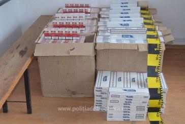 Aproape 2.000 de pachete cu tigari confiscate in Maramures