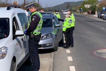 Acțiuni punctuale ale polițiștilor pe raza întregului județ. Peste 350 de autovehicule au fost oprite