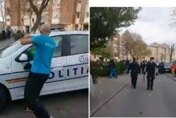 Hunedoara: Poliţişti atacaţi cu pietre într-un cartier din Hunedoara; şapte persoane – reţinute pentru ultraj