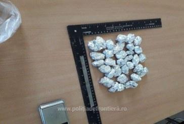 Canabis descoperit de polițiștii de frontieră asupra a doi tineri din Maramureș