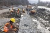 Maramures: Au început lucrările de reabilitare la DJ 187, pe Valea Ruscovei