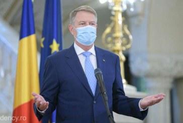 Iohannis – apel către români: Virusul nu pleacă în concediu sau în vacanţă, e în comunitate; feriţi-vă de el