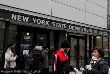 30 milioane de americani au depus cereri pentru ajutoare de şomaj în ultimele şase săptămâni