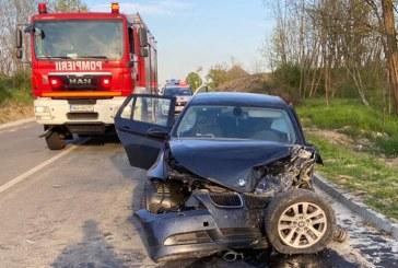 Accident cu cinci victime între Mireșu Mare și Tulghieș (FOTO)