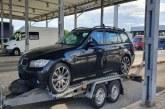 Autoturism furat din Belgia descoperit la intrarea în țară