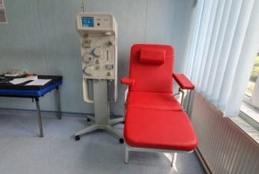 Plasmafereza pentru tratarea pacienților cu COVID-19 a fost instalată la Centrul de Transfuzie Sanguină din Baia Mare