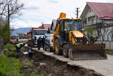 Primul strat de asfalt pe DJ 186 pe Valea Izei se va turna în toamnă