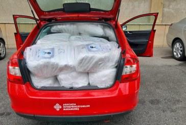 Aproape 5000 de măști și 1000 de combinezoane, donate către medicii de familie din Baia Mare și către două spitale din municipiu