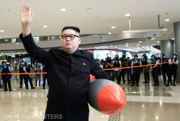 Liderul nord-coreean Kim Jong Un şi-a făcut apariţia în public după trei săptămâni de absenţă