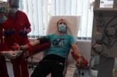 Baia Mare: Prima prelevare de plasmă de la un pacient COVID-19 vindecat