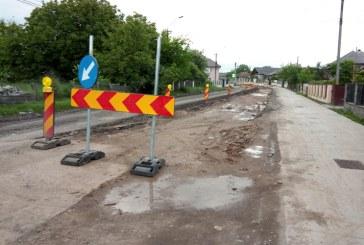 Se lucrează intens la Drumul Nordului (FOTO)