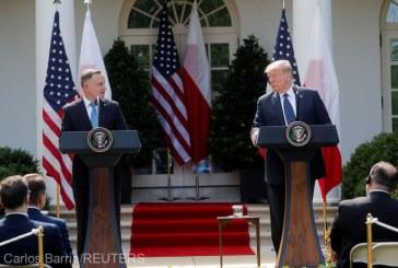 """Trupe americane vor fi """"probabil"""" transferate din Germania în Polonia, afirmă Trump"""