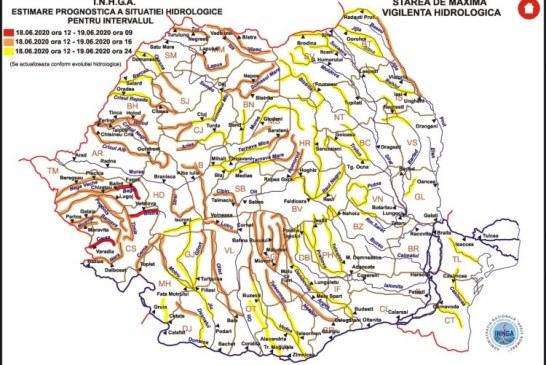Două coduri hidrologice în vigoare pentru Maramureș