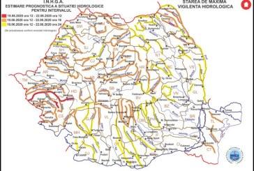 Coduri hidrologice pentru bazinele hidrografice Tisa, Vişeu, Iza, Tur, Someş, Crasna, Ier și altele