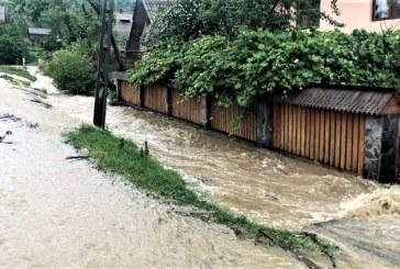 Sighetu Marmatiei, Vadu Izei, Sacel, Salistea de Sus și Copalnic Manastur afectate în urma ploilor torențiale