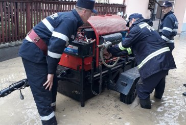 Localităție Lăpușel și Leordina afectate de inundații (FOTO)