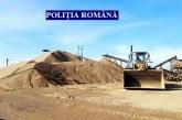 Percheziții la persoane bănuite de executarea de activități miniere fără permis