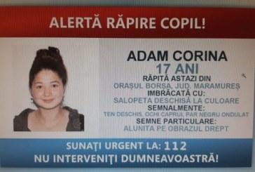 ACTUALIZARE-Fata răpită, sâmbătă, din orașul Borșa de un necunoscut a fost găsită în județul Arad