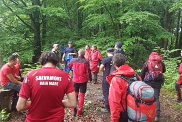 UPDATE: 10 salvatori montani caută o persoană dispărută în zona satului Boiereni