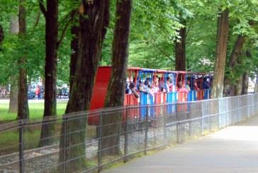 Baia Mare: Bucurie în trenuleț pentru cei mici, de Ziua Copilului (FOTO)